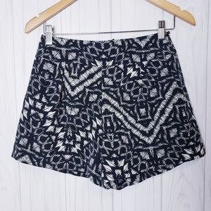 NWT Sanctuary Lined High Rise Shorts Tribal Print
